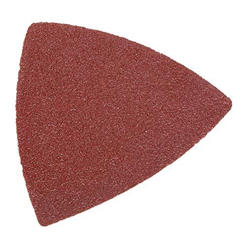 Multitool - Kit de accesorios oscilantes triangulares para lijar, 82 piezas, juego de almohadillas de arena de sierra oscilante para herramientas oscilantes