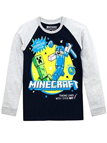 Minecraft Minecraft Jungen Minecraft Langarmshirt 110