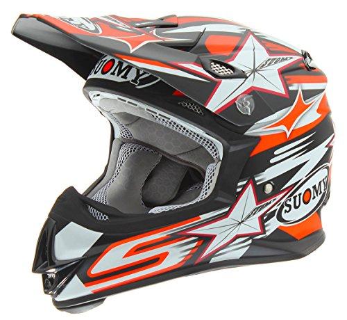 Suomy KTMJ0029-SM Helmet (Bullet M.Blk Small)