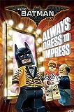 Batman Póster The Lego Movie - Dress to Impress (61cm x 91,5cm) + Embalaje para Regalo