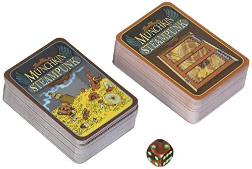 Steve Jackson Games sjg01531–Tarjeta Juegos, Munchkin Steam Punk, edición Inglesa