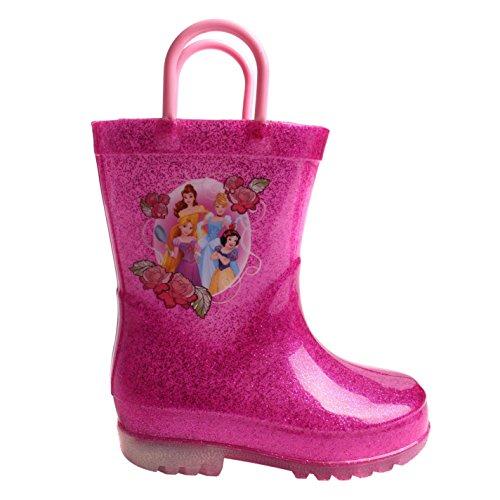 Character Kinder Gummistiefel Leuchtende Regenstiefel LED Disney Princess C10 (28)