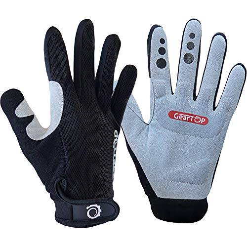 Mountain Bike Gloves - Great for Cycling, Performance Specialized Biking Protection for Women and Men