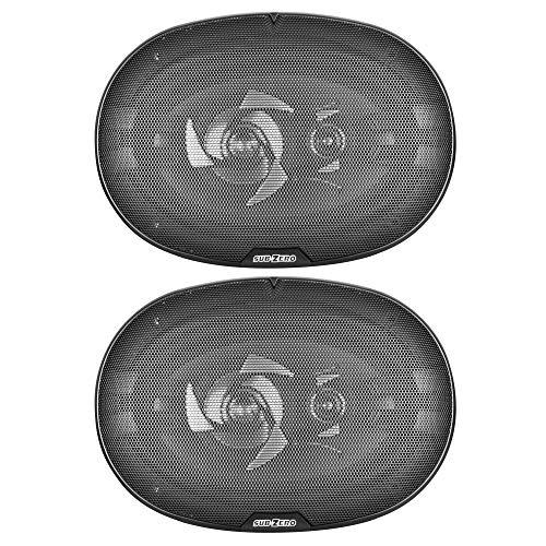 Sub-Zero Ice SS3328 Speakers, 6 x 9-inch Triaxial 450W