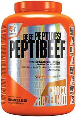Extrifit PeptiBeef Paquete de 1 x 2000g - Aislado de Proteína ...