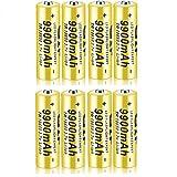 18650 Batería Recargable de Iones de Litio 3.7V 9900mah Baterías de botón de Gran...