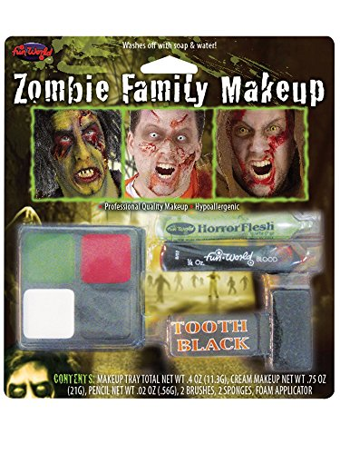 Zombie Family Make up Kit ( new zombie packing)