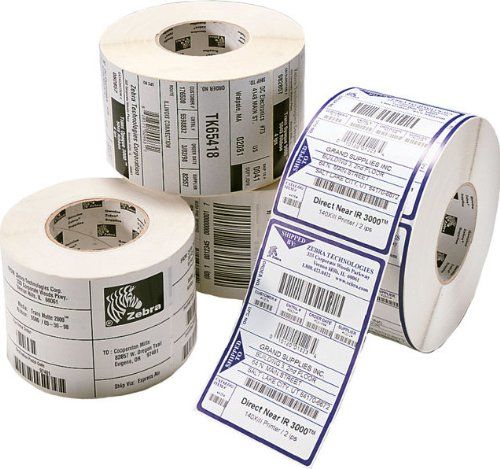Zebra Z-Select 2000T - Etiquetas impresora Color blanco