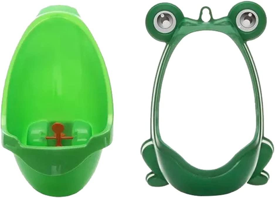 NYKKOLA Froggy Baby Urinal with Whirling Target Toddler Potty Toilet Training Kids Urinal for Boys Pee Trainer Bathroom