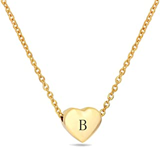 Best gold b initial necklace Reviews