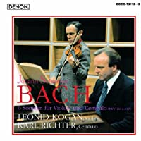 J. S. Bach: 6 Sonaten Fur Violine Und by Leonid Kogan