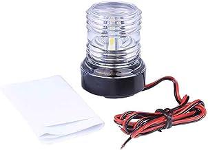 Royalr 2pcs 12V 9 LED Port Starboard Black Lights Boat Side Lights Housings-Port Right Green Left Red Boat Side Navigation Lights Lamps Bulbs