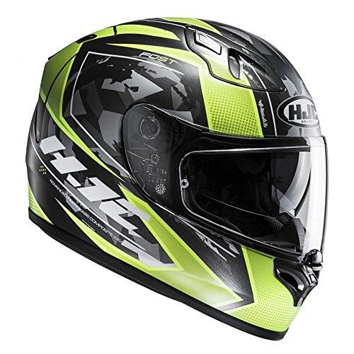 FSTKGXL - HJC FG-ST Kume Motorcycle Helmet Green XL (MC4SF)