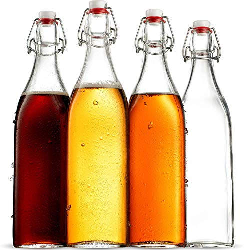 small air tight glass bottles - 3
