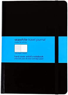 Seawhite Alternate Lined Travel Journal A5 (5.8 x 8.3in)