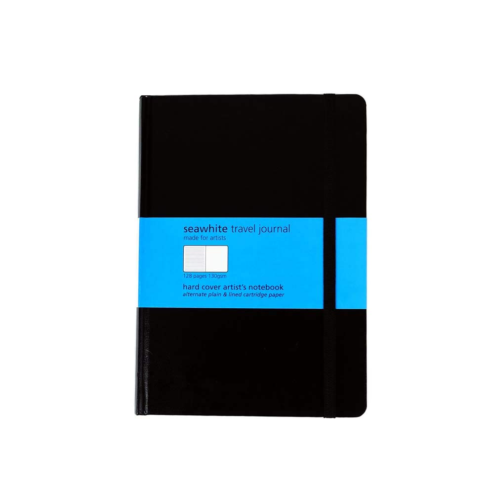 SEAWHITE TRAVEL JOURNAL ALTERNATE LINED PAGES A6