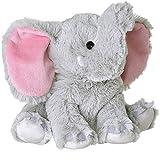 NEO- Peluche Termico Animal Elefante Relleno Natural de Semillas para Microondas Bebe y Niños Terapeutico