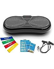 Bluefin Fitness Ultra Dunne Trilplaat | Verlies Vet & Wordt Gezond vanuit Huis | 5 Programma's + 180 niveau's | Bluetooth Speakers | Gemakkelijk Op Te Bergen | Strak VK Design