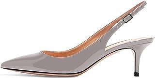 Soireelady Scarpe da Donna,Scarpe col Tacco Donna,Scarpe con Cinturino Dietro la Caviglia