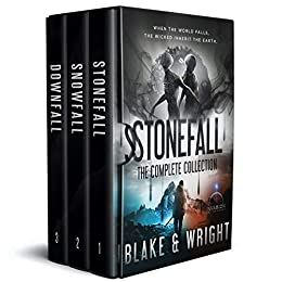 Stonefall: The Complete Collection (An Alien Invasion Science Fiction Series) by [Avery Blake, David Wright]