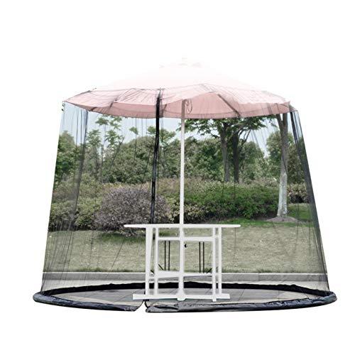 Fowybe Sombrillas de jardín y mosquiteros al aire libre Patio Mosquiteras Sunshade Redes Mesa Paraguas Mosquiteras