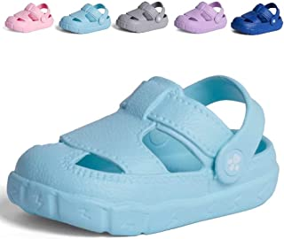 DESTURE Kid's Garden Shoes Clogs Sandals Boy and Girl Lightweight Water Pool Beach Summer Slipper Easter Egg