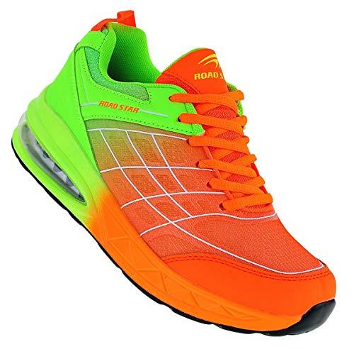 Roadstar 280 Turnschuhe Schuhe Sneaker Sportschuhe Luftpolstersohle Unisex 36-46, Schuhgröße:43