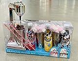 Milkshake Maker Gift Set with Banana Strawberry & Chocolate Crusha Mix