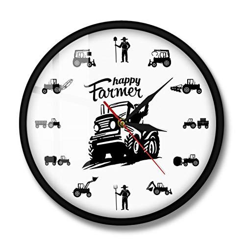 RUOXI Happy Farmers, máquinas agrícolas, Tractores, Reloj