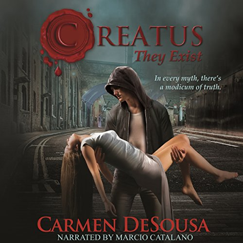 Creatus     Creatus Series, Book 1              By:                                                                                                                                 Carmen DeSousa                               Narrated by:                                                                                                                                 Marcio Catalano                      Length: 10 hrs and 35 mins     6 ratings     Overall 4.2