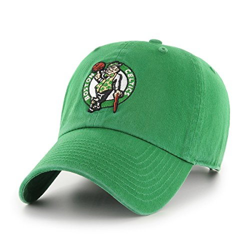 OTS NBA Boston Celtics Men's Challenger Adjustable Hat, Team Color, One Size