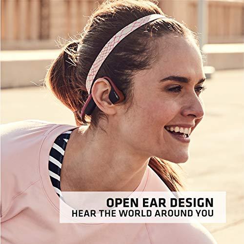 Product Image 6: AfterShokz Titanium Bone Conduction Wireless Bluetooth Headphones, Canyon Red