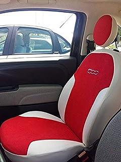 Sitzbezüge rot hinten KOS AUDI A4