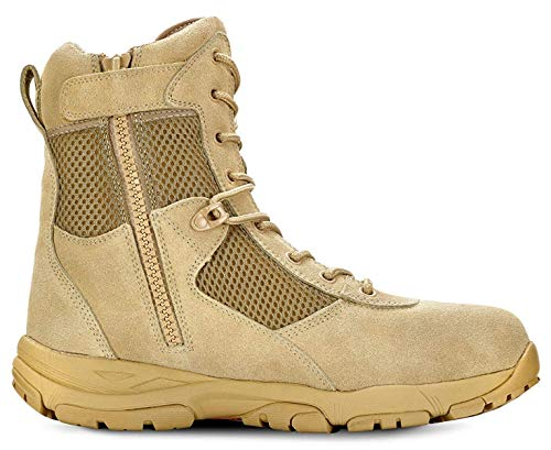Maelstrom Landship 2.0 Men's 8' Tan Military Tactical Boots...