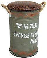 YMCLKYオリジナル スウェーデン軍式 ドラム缶チェアー (S)Sワンカラー