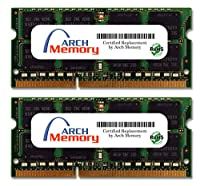 Arch Memory 4GB (2 x 2GB) 204ピン DDR3 So-dimm RAM Lenovo ThinkPad R400 7439R1U用