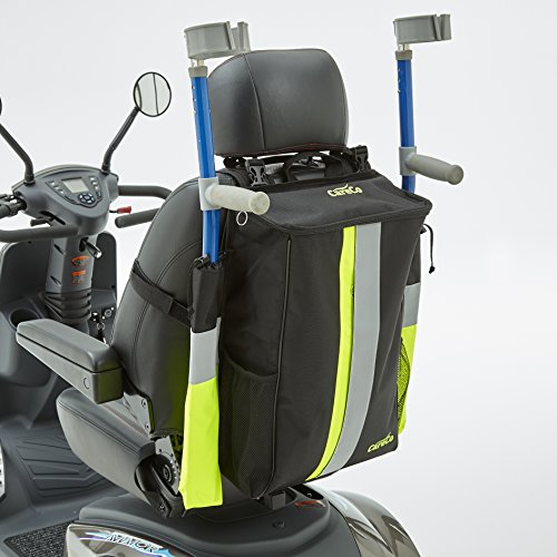 CareCo Hi-Vis Crutch Walking Stick Bag