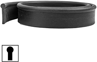 BlackDiamond Round Top Soft Squeegee Rubber 12 Pack - 18 Inch