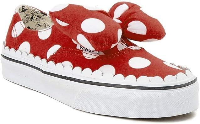 Amazon.com: Vans Disney x Juventud/Tween, Rojo : Ropa, Zapatos y ...