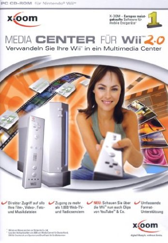 X-Oom Media Center Für Wii 2 [Importación Alemana]