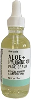 Mon Amie Aloe + Hyaluronic Acid Face Serum, 2 fl. oz.