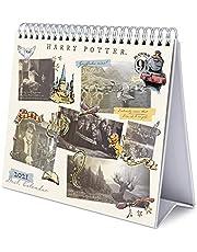 Erik® Calendrier Mensuel 2021 Harry Potter | Calendrier de Bureau 12 Mois | De Janvier à Décembre 2021