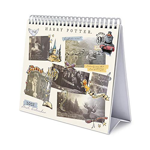 ERIK - Calendario de Escritorio 2021 Harry Potter, 17x20 cm