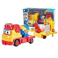 HIL Super wing おもちゃドリーエンジニアリングビークルミキシングトラック変形車のおもちゃ子供のおもちゃスリーインワン建設車両のおもちゃシーンおもちゃ漫画の男の子のお気に入りのおもちゃ