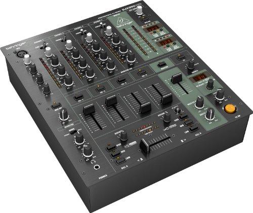 BEHRINGER DJX900 analoog-mixer, USB 4 kanalen & meer