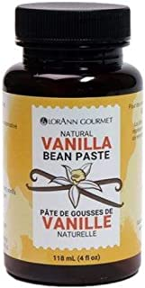 Vanilla Bean Paste, Natural, 4 Ounce, LorAnn (Basic)