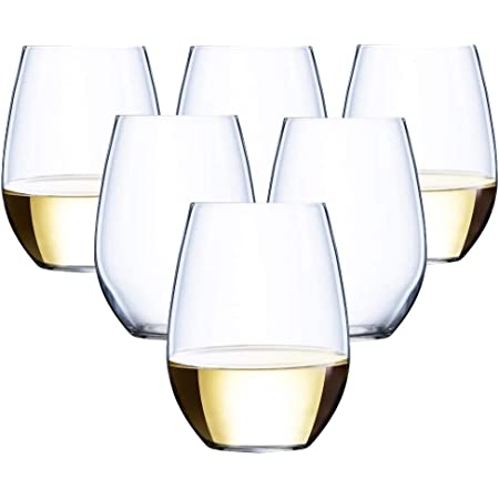 48 Piece Stemless Unbreakable Crystal Clear Plastic Wine Glasses Set Of 48 10 Ounces Wine Glasses