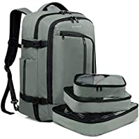 Bange 40-Liter Travel Overnight Backpack with 3 Cubes