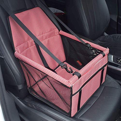 AYCPG Pet Booster Car Seat,Dog Car Seat Cover Waterproof,40x30x25cm Scrub Cloth Dog Car Seat for Perfect for Small and Medium Pets,G,40times;30times;25cm lucar (Color : F, Size : 40×30×25cm)