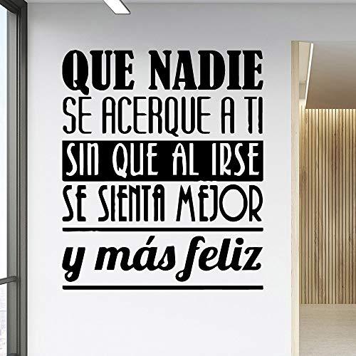 DIY texto pegatinas de pared habitación de los niños accesorios de decoración del hogar sala de estar decoración del hogar calcomanías de arte de pared A2 28x31cm